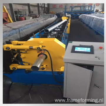 color steel rain pipe roll forming machine
